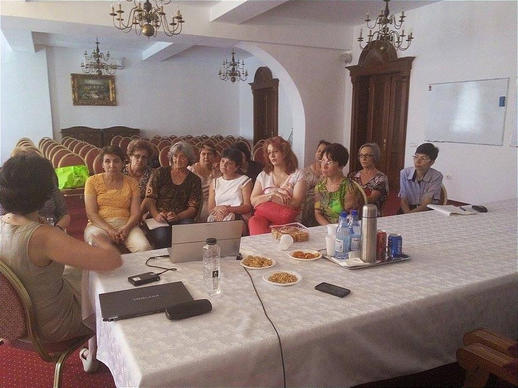 Școala de vară a cursurilor post-universitare pentru medicii de familie din mediul rural , 12 iulie 2015, Arhiepiscopia Râmnicului, lector prof.dr. Dana Craiu -NPI
