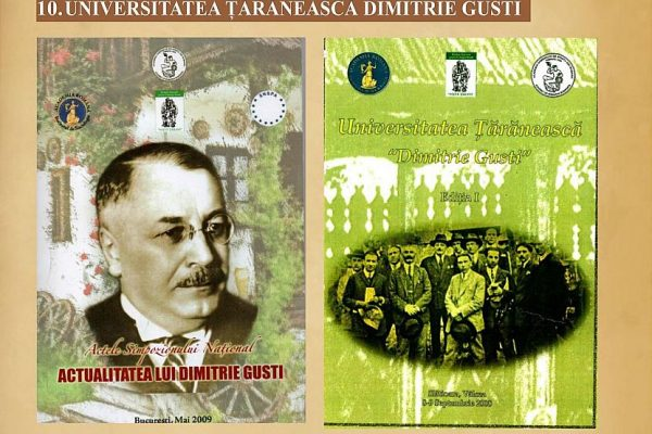 10 – Universitatea Dimitrie Gusti