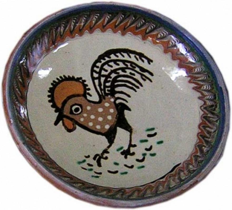 """Tărgul Ceramicii Populare Românești ,,COCOȘUL DE HUREZ"""", emblema târgului – ceramica de Horezu – COCOȘUL DE HUREZ"""