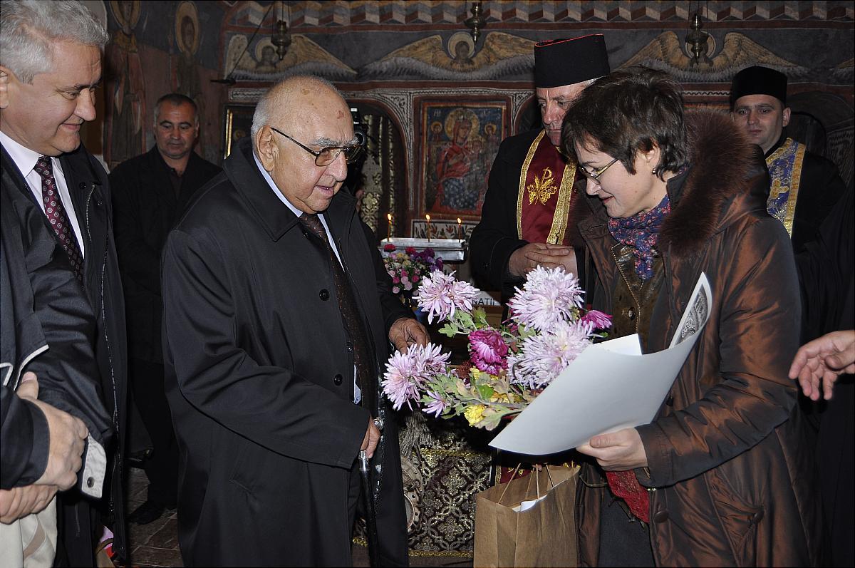 Premiile naţionale anuale ale Fundaţiei ,,Nişte ţărani'', 26.10.2014, Elena Murariu, Dinu Săraru, Olimpiodor Antonescu