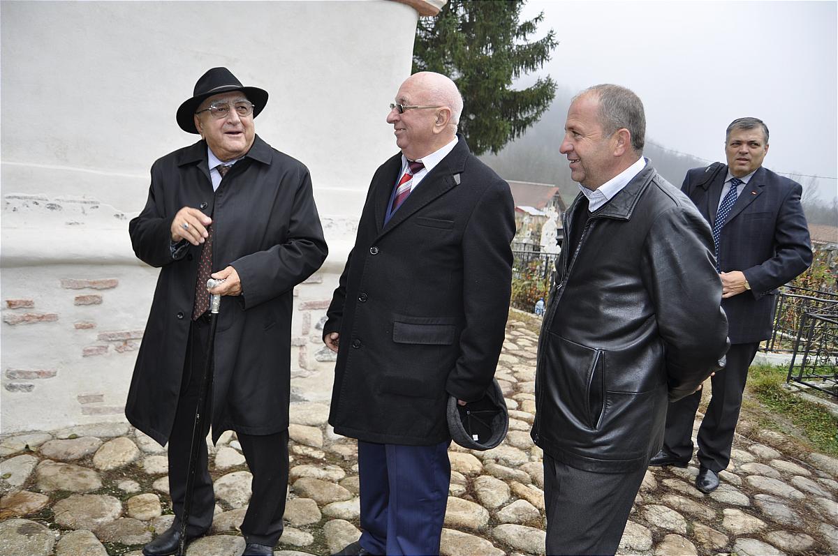 Premiile naţionale anuale ale Fundaţiei ,,Nişte ţărani'', 26.10.2014, Dinu Săraru, Sorin Mihăilescu