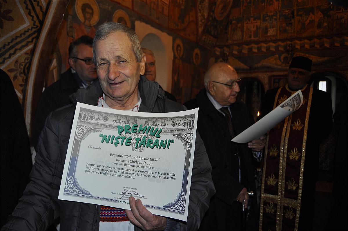 Premiile naţionale anuale ale Fundaţiei ,,Nişte ţărani'', 26.10.2014, Chelcea Ioan, Dinu Săraru
