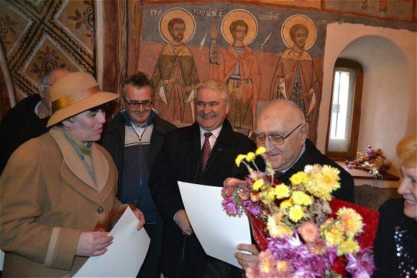 Premiile naţionale anuale ale Fundaţiei ,,Nişte ţărani'', 26.10.2014, Dinu Săraru, Cristian Dragu, Olimpiodor Antonescu, Maria Fifoiu