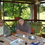 Dinu Săraru și Sorin Mihăilescu la Slătioara
