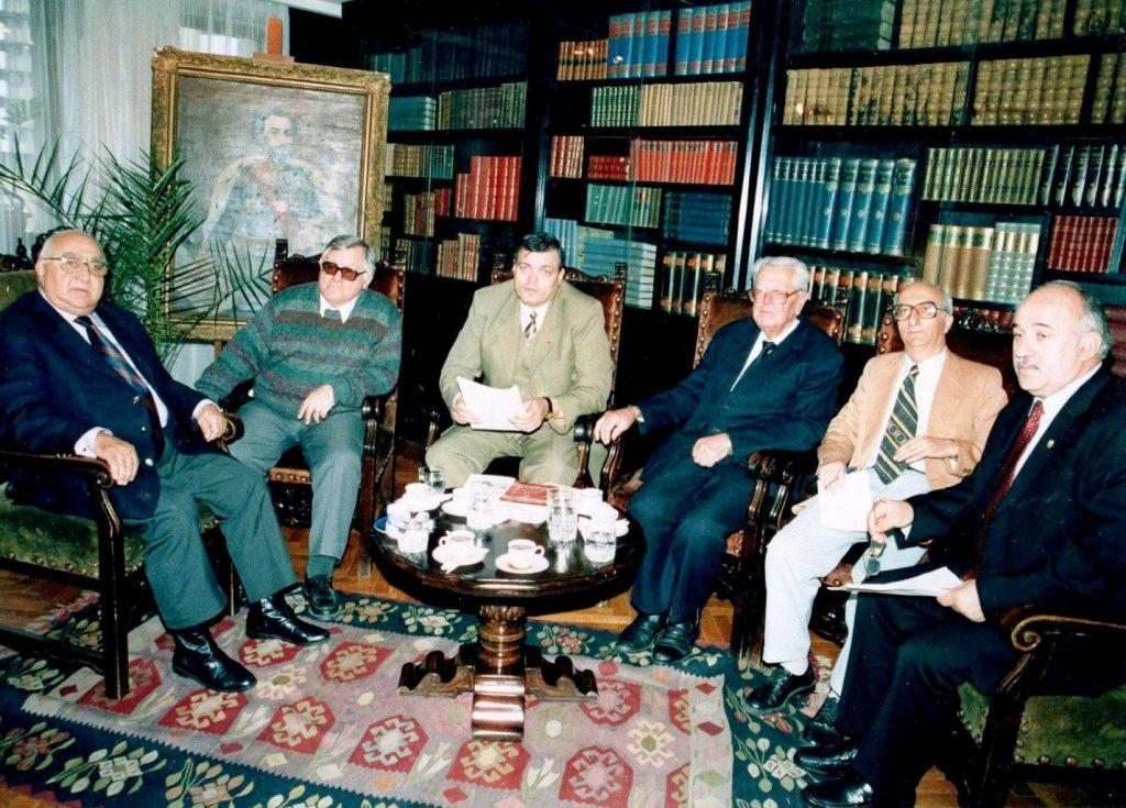 27.09.2004 - Ședința Consiliului de Administrație al FNȚ
