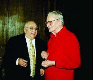 Dinu Săraru și Radu Beligan