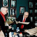 Anul 2000 - Înmânarea diplomei de societar lui RADU BELIGAN
