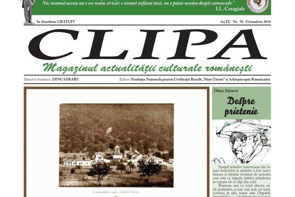 Revista Clipa nr. 58 – octombrie 2018