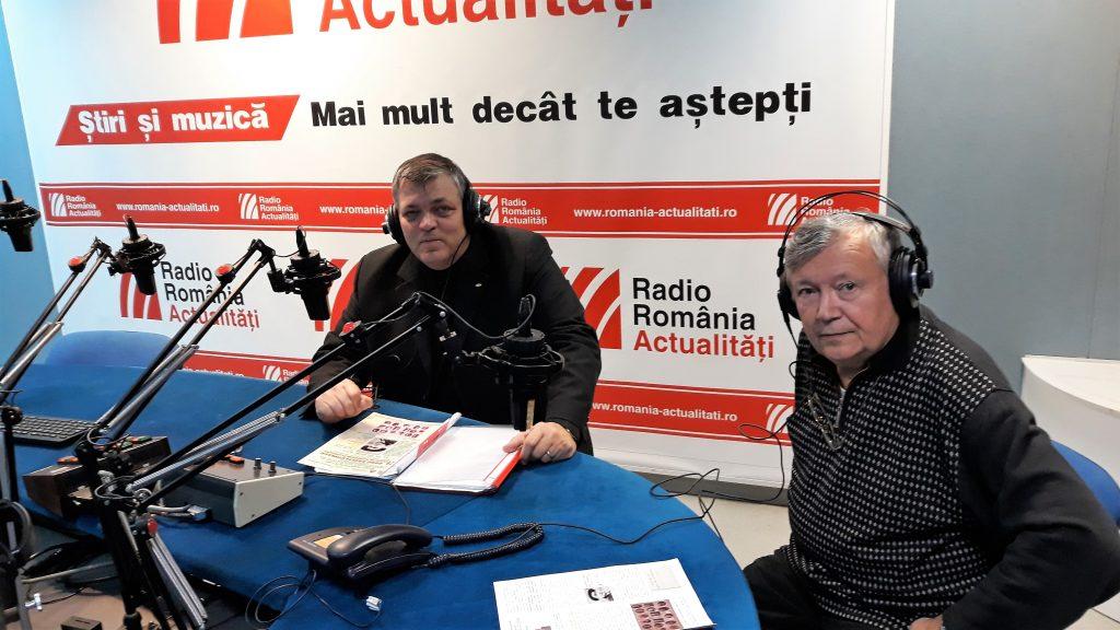 Sorin Mihailescu si Alexandru Mironov la Radio Romania Actualitati