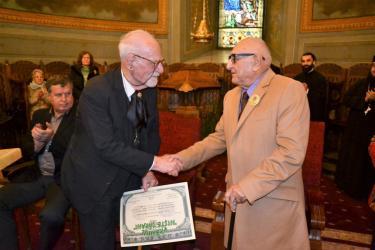 Fundatia Niste Tarani - Premiile nationale 2016 - Constantin Bălăceanu Stolnici și Dinu Săraru