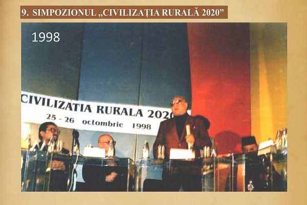 09 – Civilizația rurală 2020