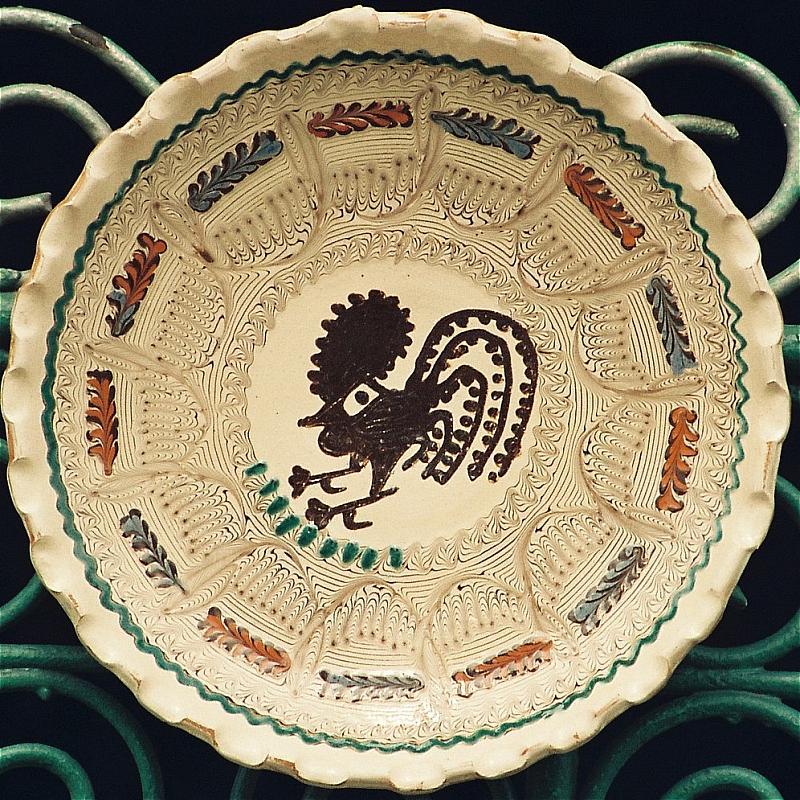 """Tărgul Ceramicii Populare Românești ,,COCOȘUL DE HUREZ"""", emblem târgului – ceramica de Horezu – COCOȘUL DE HUREZ"""