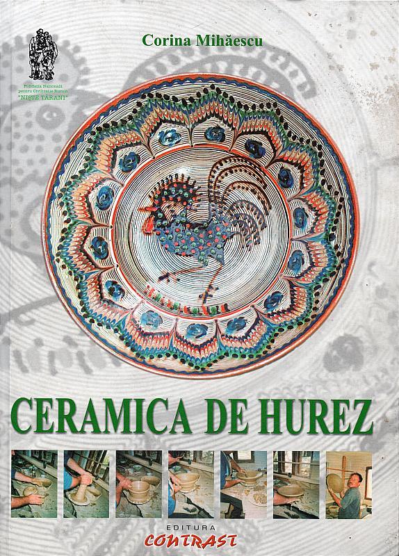 Albumul CERAMICA DE HUREZ – coperta 1