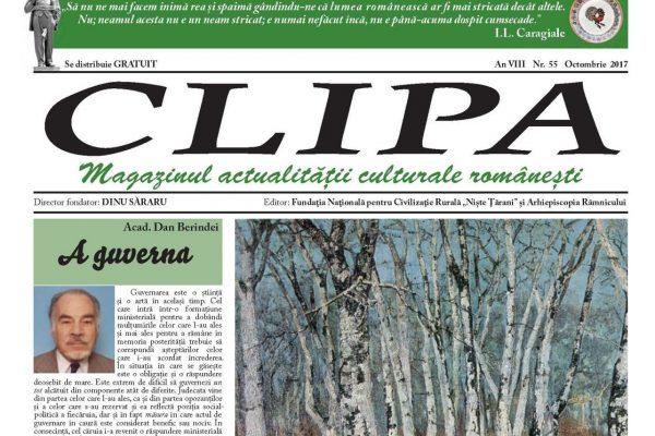 Revista Clipa nr. 55 – octombrie 2017