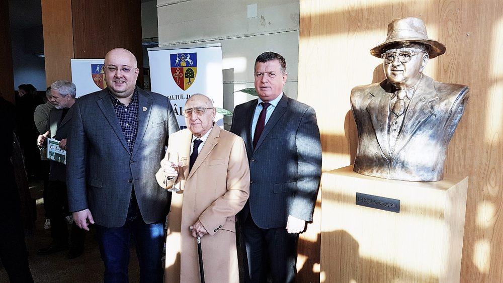 Dezvelirea bustului Dinu Săraru