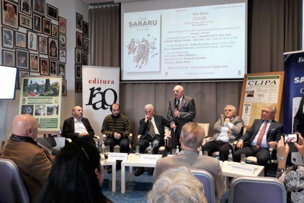 lansare roman Corrida - decembrie 2017