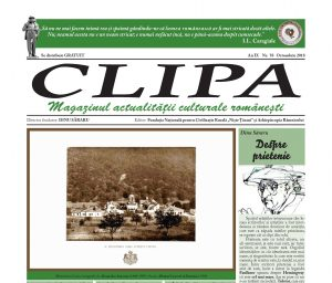 Revista Clipa nr. 58 - octombrie 2018