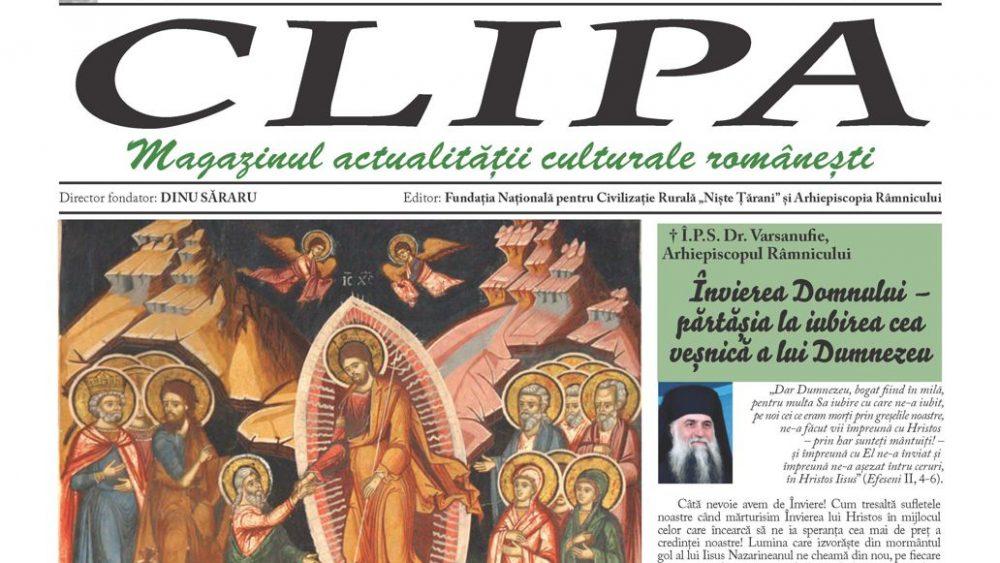 revista clipa mai-iunie 2019 cover
