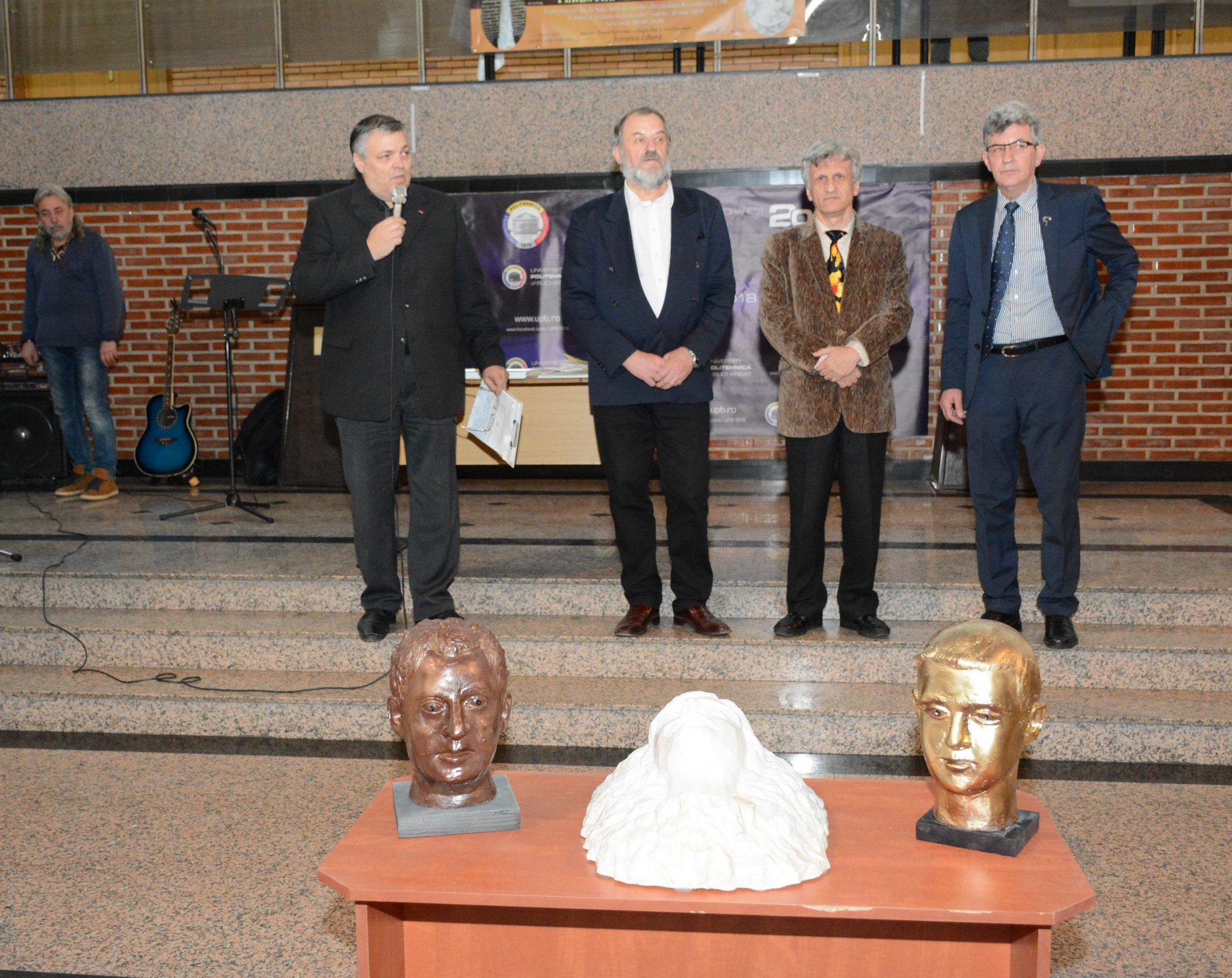 Sorin Mihăilescu, Constantin Sinescu, Mihai Cătrună, Gabriel Grigorescu