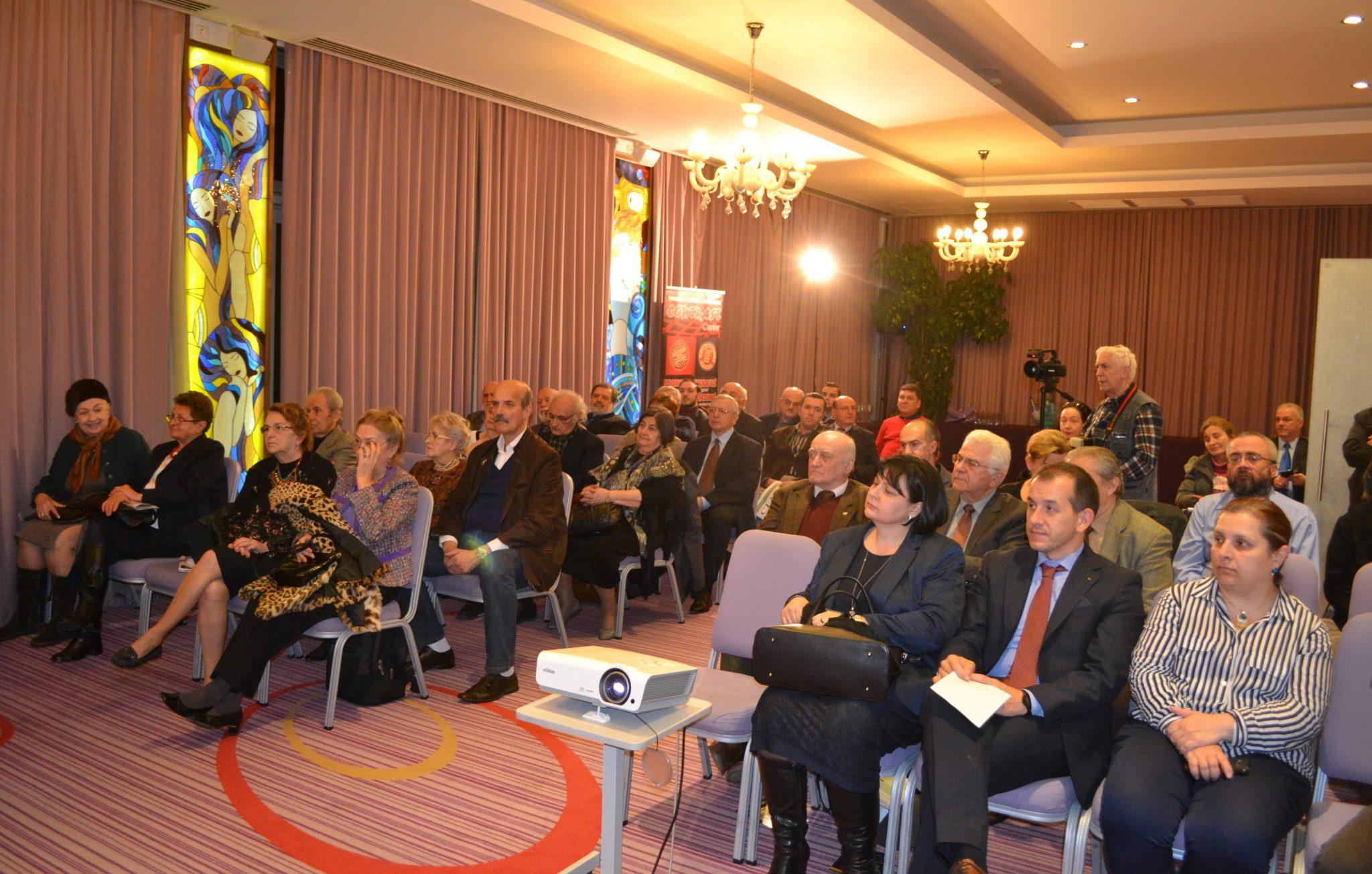 Hotelul Marshal Garden, București – public participant la lansare