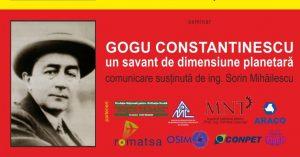 Londra - Conferință Gogu Constantinescu