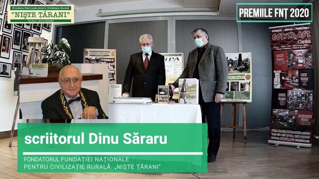 Premiile FNȚ 2020 Dinu Săraru