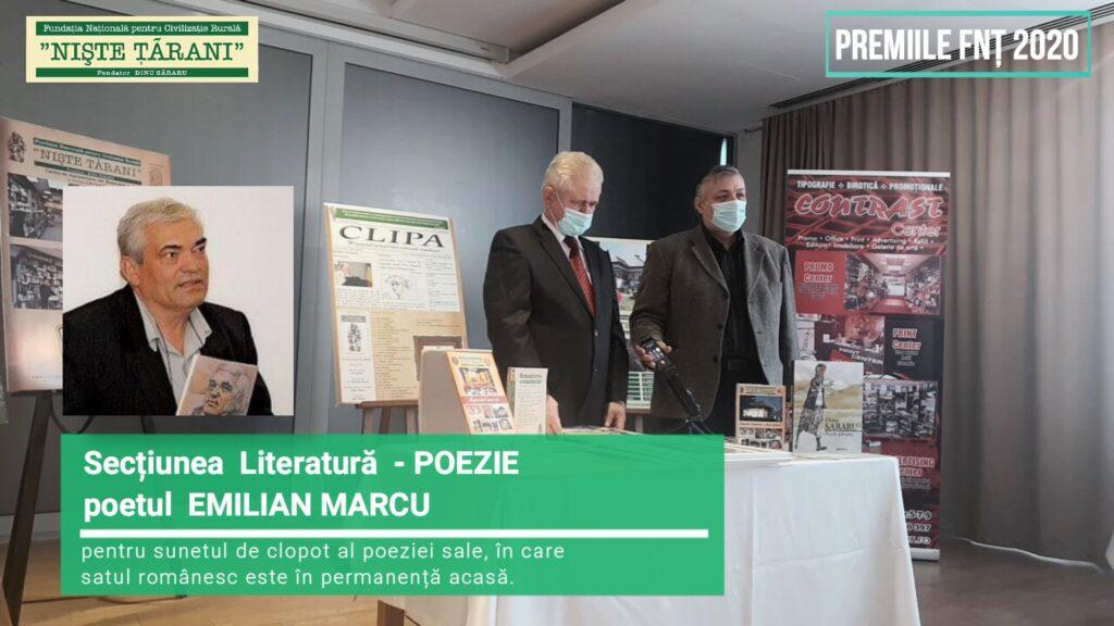 Premiile FNȚ 2020 Emilian Marcu