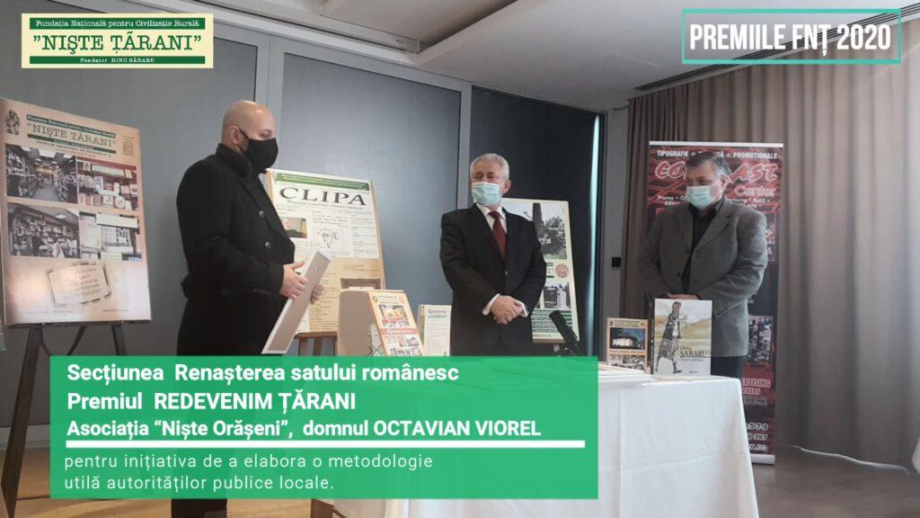 Premiile FNȚ 2020 Octavian Viorel