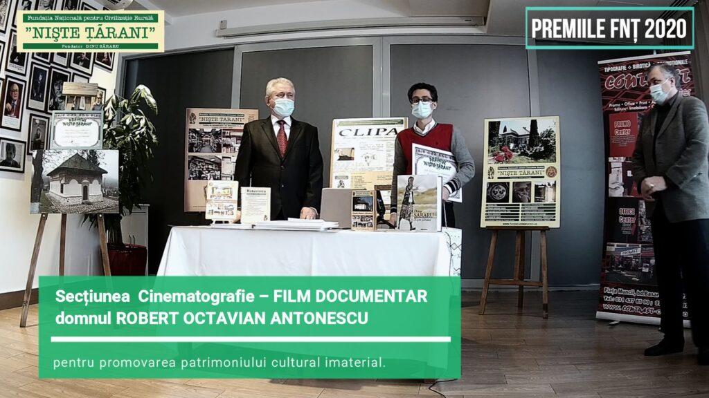 Premiile FNȚ 2020 Robert Octavian Antonescu