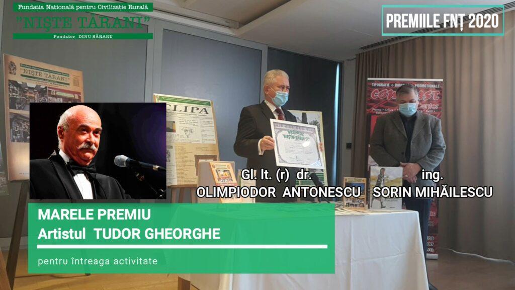 Premiile FNȚ 2020 Tudor Gheorghe