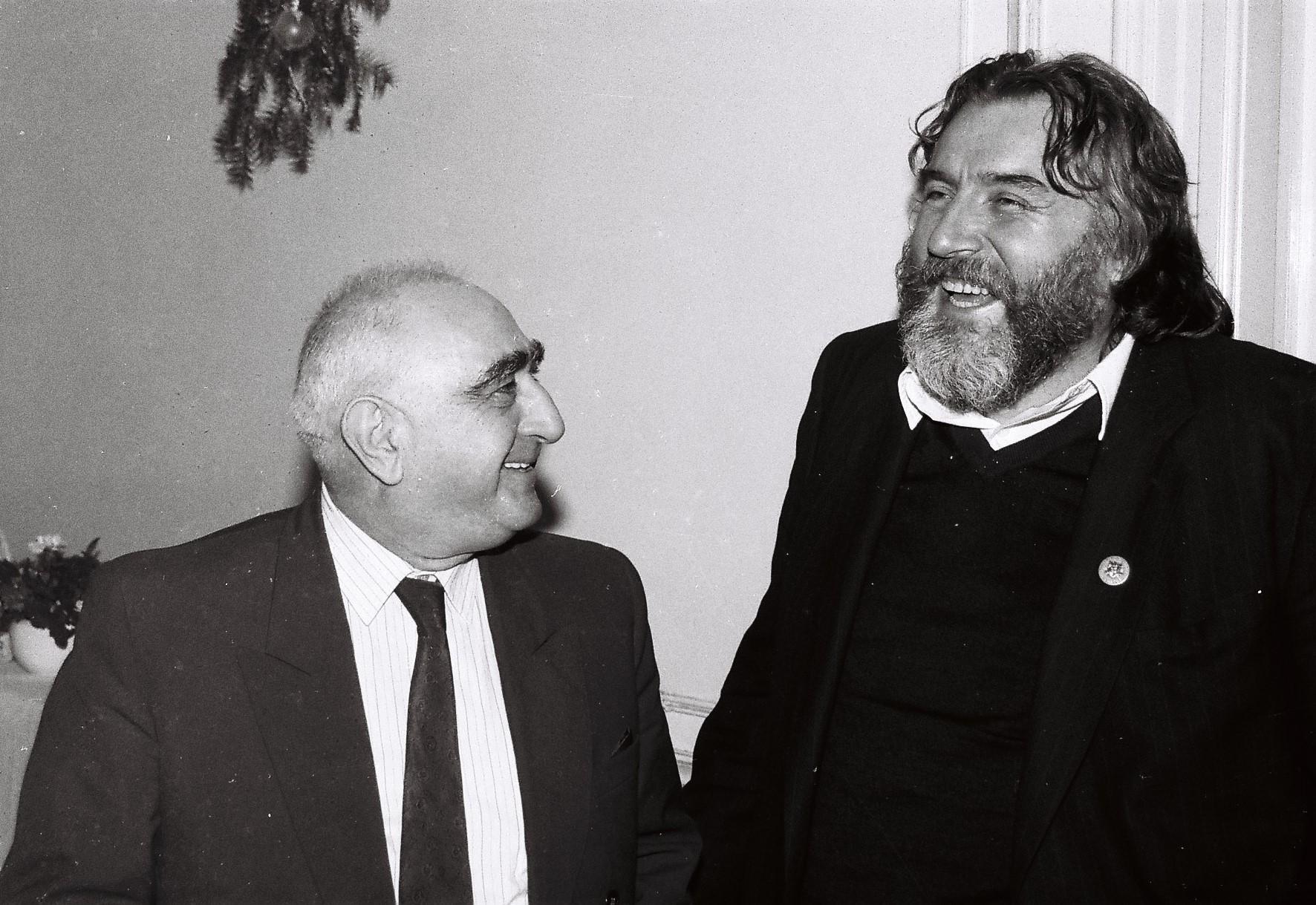 1992 - Dinu Săraru și Adrian Păunescu